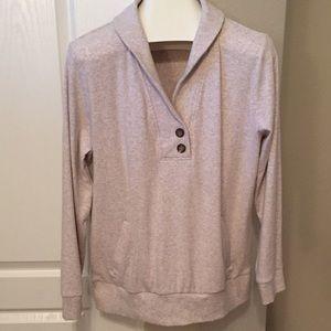 Banana Republic heather gray sweater/ sweatshirt